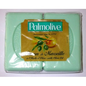 "SAVON ""PALMOLIVE"" HUILE D'OLIVE 100G x 2"