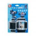 SUPPORT 4 EN 1 TEL/GPS/PDA… + PHOTO + USB + AC 12/24V