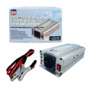 CONVERTISSEUR 12V/230V/600W DC/AC (PRISE N.F.) + PORT USB