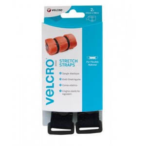SANGLE AJUSTABLE VELCRO 25MMx68CM x 2 PCES