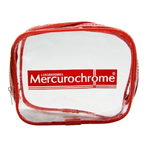 MERCUROCHROME TROUSSE TRANSPARENTE *** OFFERTE ***