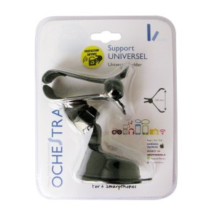 SUPPORT A VENTOUSE A PINCE 12CM UNIVERSEL GPS & SMARTPHONES