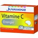VITAMINE C ENERGIE AROME ORANGE BOITE X 30 CP A CROQUER JUVAMINE