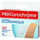 """PANSEMENTS """"ECONOMIQUE"""" BOITE X 20 MERCUROCHROME"""