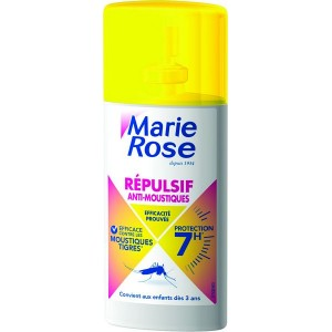 SPRAY REPULSIF ANTI-MOUSTIQUES 100ML PROTECTION 7H MARIE ROSE