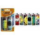 "BRIQUET ""BIC"" J26 MAXI DECOR 8,9ml BLISTER x2"