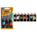 "BRIQUET ""BIC"" J25 MINI DECOR 4,2ml BLISTER x3"