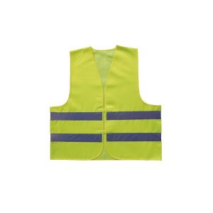GILET DE SECURITE REFLECHISSANT JAUNE TU XL