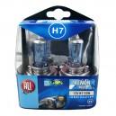 COFFRET AMPOULE H7 12V 55W XENON BLEU X 2